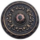 Dahlhaus Round Ornamented Doorbell Button 452-1