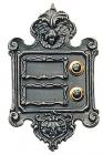 Antique Double Doorbell Button Nr.453