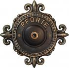 Doorbell Button with Embossed Name Nr.525
