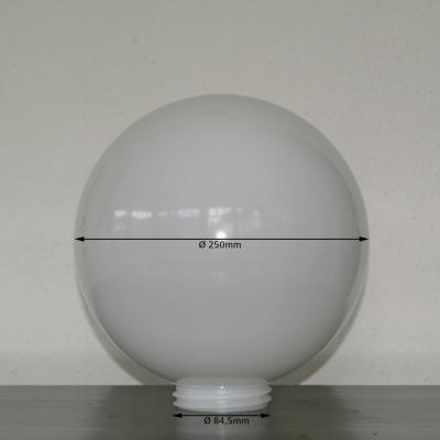 Acrylic Glass Spare Globe Opaqe 250mm Nr.088-25