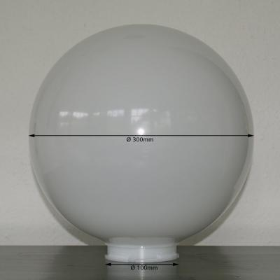 Acrylic Glass Spare Globe Opaqe 300mm Nr.088-30