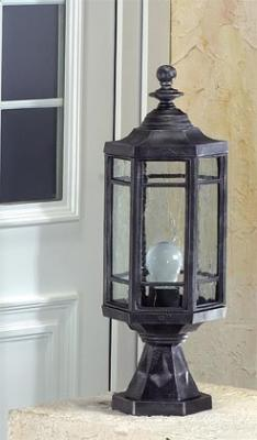 Color Shown: Black Wrought Iron Glass Shown: Old German White