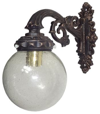 Wall Lantern with Glass Globe Nr.1349