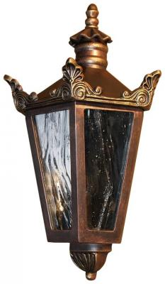 Color Shown: Black, Copper & Gold Patina Glass Shown: Old German White