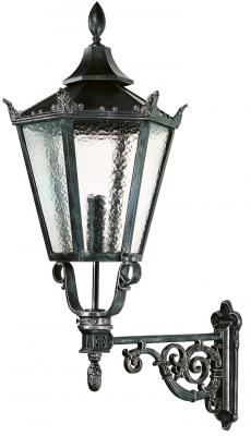 Color Shown: Black Wrought Iron Glass Shown: Cathedral