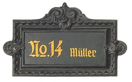 Antique Wall-Sign Nr.407