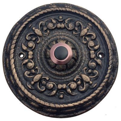 Runde Klingelplatte mit Klingelknopf Nr.452-1