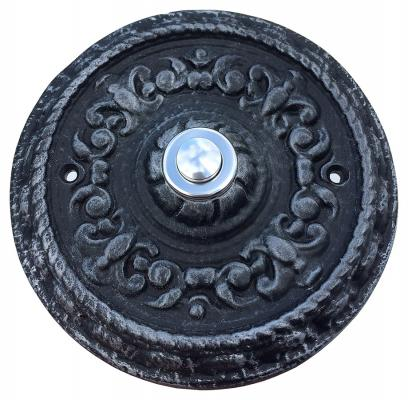 Round Ornamented Doorbell Button Nr.452-1
