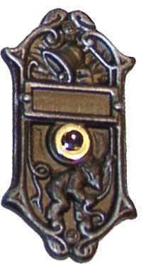 Door Bell Button `Brownie Nr.936