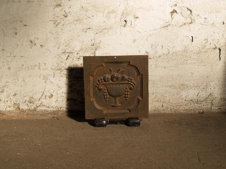 Kleine Kaminplatte als Dekoplatte ⎮ Nr.Kaminplatte5