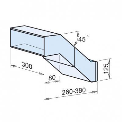 Durchwurfkasten für Mauerwerk Nr.dwk300