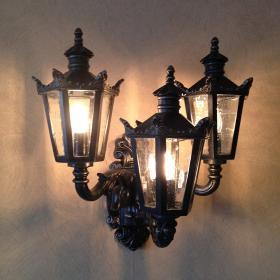 Exhibit Wall Lantern DS3748 L3
